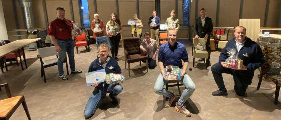 Vrijwilligersprijzen naar EHBO en Scoutingclubs